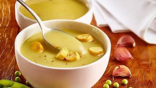 Рецепт крем-супа с горошком: постное блюдо на каждый день