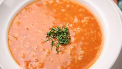 Как приготовить постный суп из чечевицы с имбирем: домашний рецепт