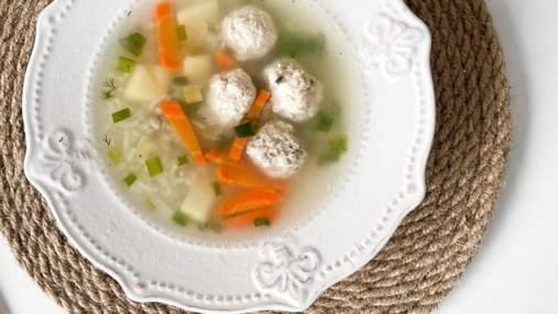 Суп с куриными фрикадельками: домашний рецепт