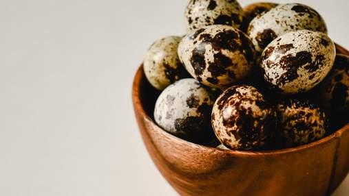 Як пофарбувати перепелині яйця на Великдень: поради