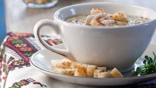 Суп-пюре з баклажанів з курятиною: домашній рецепт