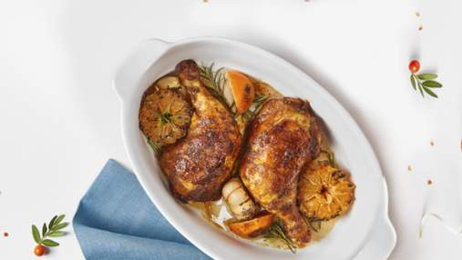 Як  приготувати запечену курку у вині з мандаринами: домашній рецепт