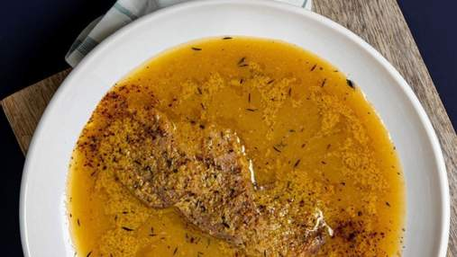 Літній суп з яблуками: рецепт від Марко Черветті