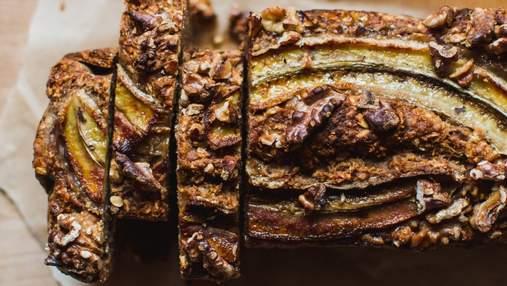 Банановий хліб: простий рецепт смачного сніданку