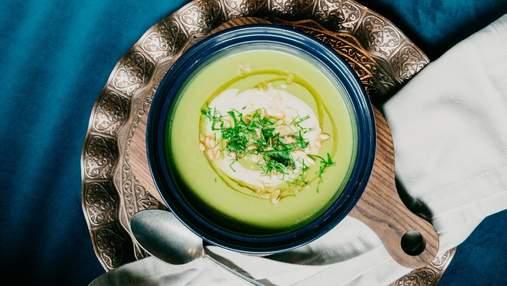 Суп з авокадо та йогуртом у спеку:  простий рецепт