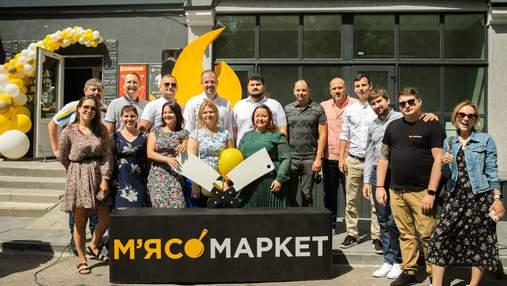 """100 магазинів за рік: торгова мережа МХП  """"М'ясомаркет"""" підкорює нові вершини"""