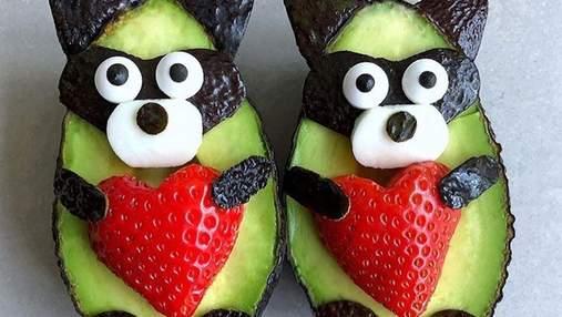 Забавные съедобные зверюшки из авокадо, перед которыми не устоит ни один ребенок