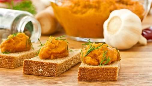 Овочева ікра на зиму: домашні рецепти з кабачків та баклажанів