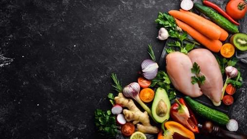 Формула здорового питания: чуть мяса, достаточно злаков и много овощей