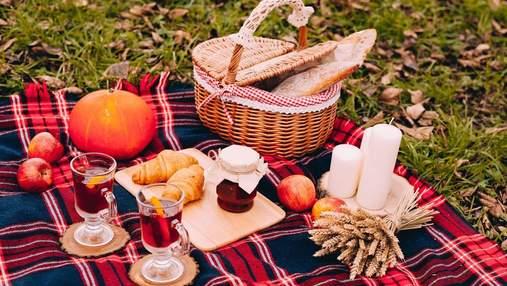 Збираємось на осінній пікнік: корисні поради для вдалого відпочинку