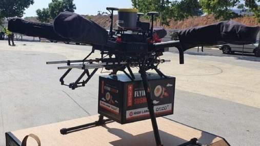 В Ізраїлі дрон-кур'єр вперше доставив клієнту замовлення з ресторану
