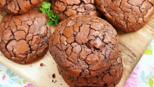 Нова варіація класичного десерту: готуємо шоколадне печиво брауні