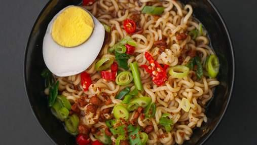 Известный японский суп: готовим аппетитный куриный рамен