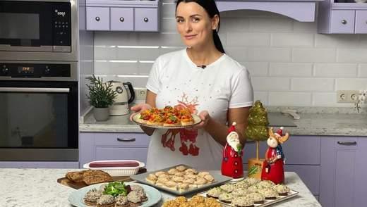 Шість смачних закусок на Новий рік: рецепти Лізи Глінської