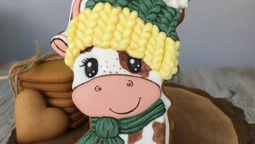 Страви у вигляді бика на Новий Рік 2021: ідеї оформлення святкових смаколиків