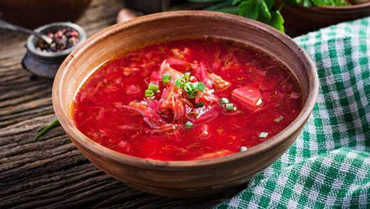 Борщ потрапив до рейтингу найкращих супів світу за версією CNN